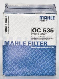 Масляные фильтры MAHLE
