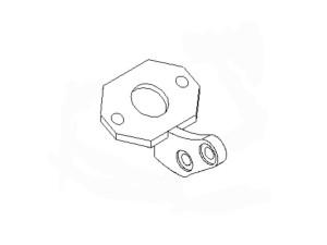 Кронштейн тормозной камеры пов