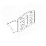 Кронштейн тормозной камеры (SNF)